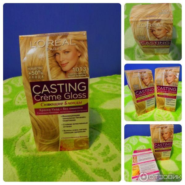Краска для волос LOreal CASTING Creme Gloss  БЛОНД и