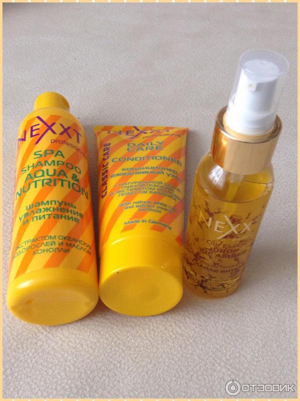 Nexxt professional масло для волос отзывы