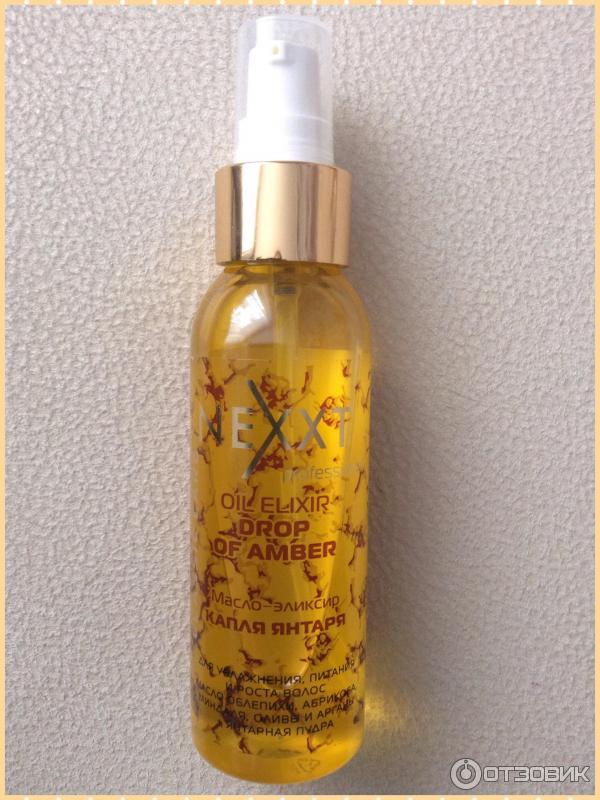 Масло эликсир капля янтаря для волос