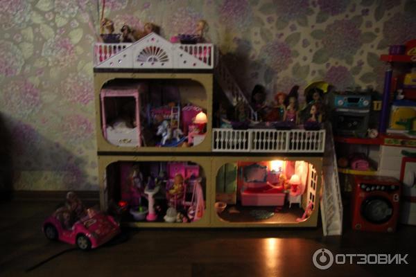 Купить кукольный домик фирмы огонек