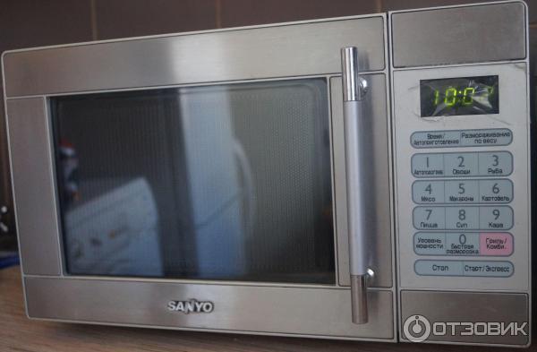 sanyo микроволновая печь инструкция