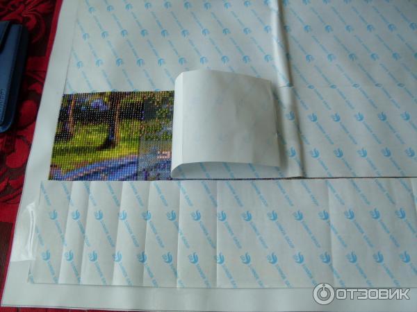 Клеевой слой для алмазной вышивки