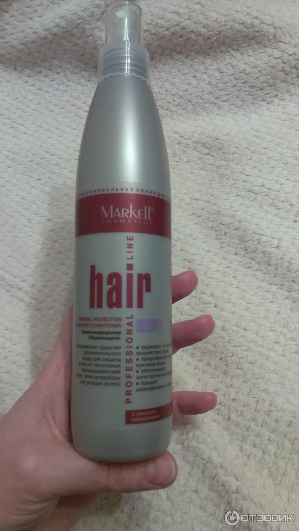 Средство для волос перед сушкой феном