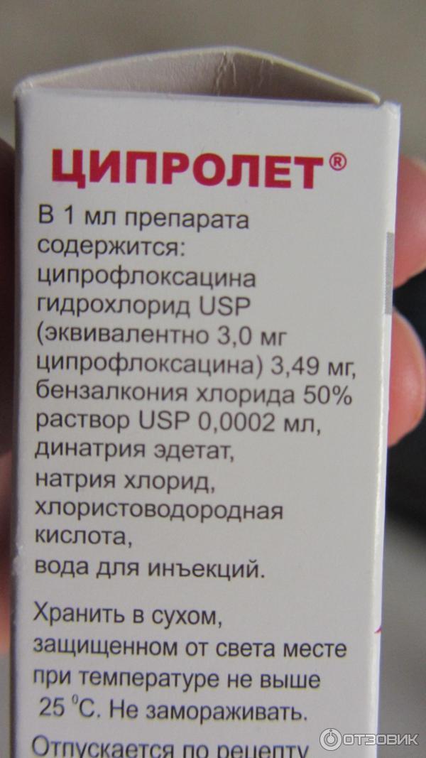 ципролет фото упаковки