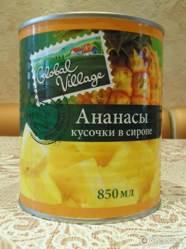 Консервированные ананасы своими руками 84