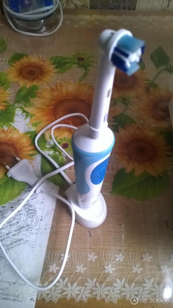 Зубная щетка oral b vitality 2 фотография