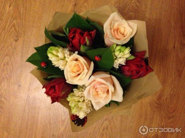 Отзывы доставка цветов