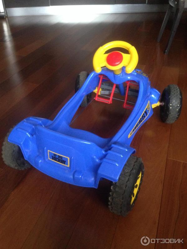 Как сделать детскую машину с педалями 296