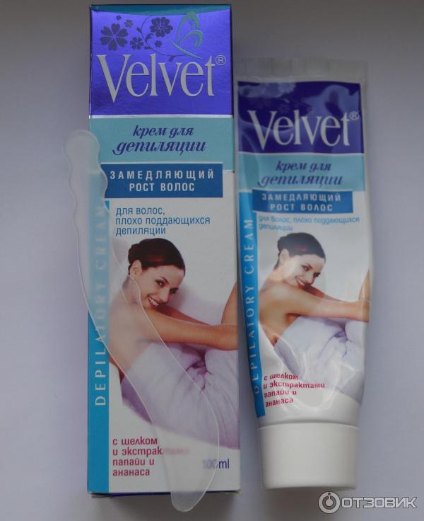 Velvet крем для депиляции отзывы