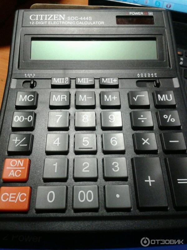 калькулятор ситизен Sdc-444s инструкция на русском - фото 5