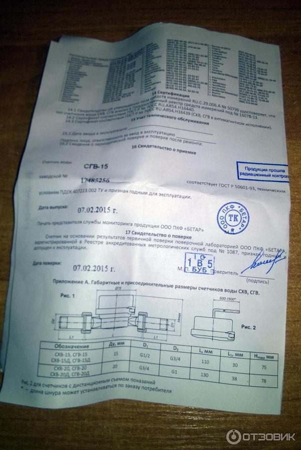 Сгв15 Бетар Паспорт