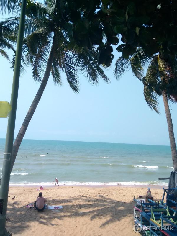 Отзывы о пляже джомтьен в тайланде