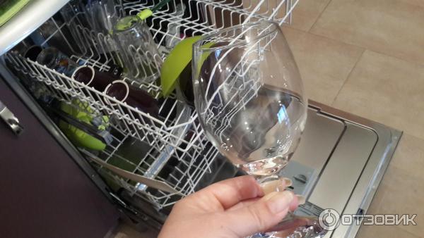 Разводы в посудомоечной машине