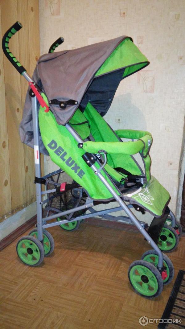 Emily deluxe коляска трость