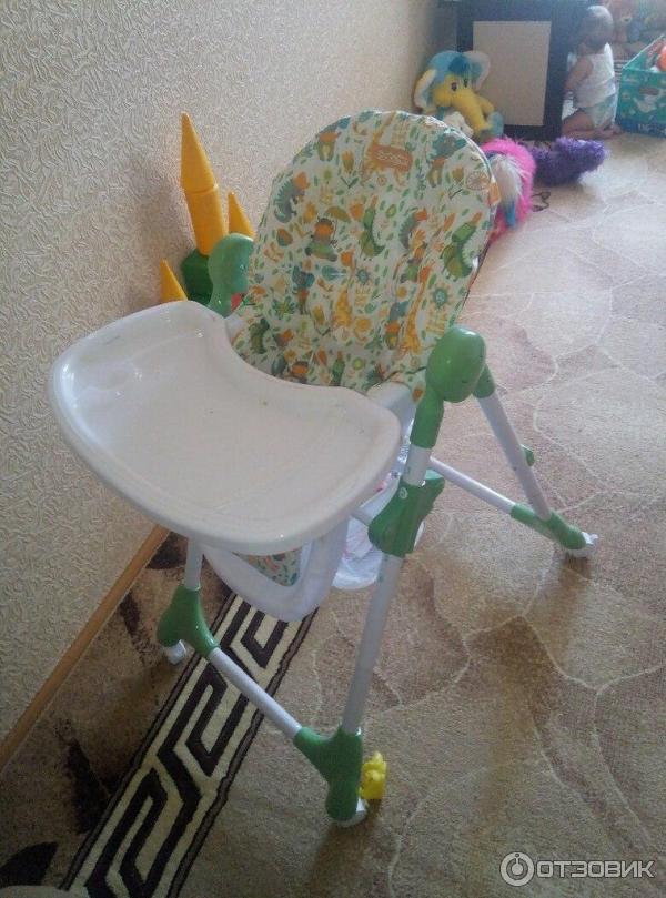 Стул для кормления babyton meal зеленый отзывы