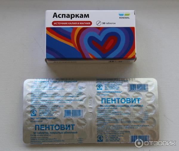 препарат Аспаркам фото