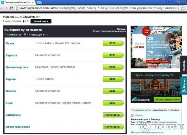 Цена билета на самолет из москвы до ейска