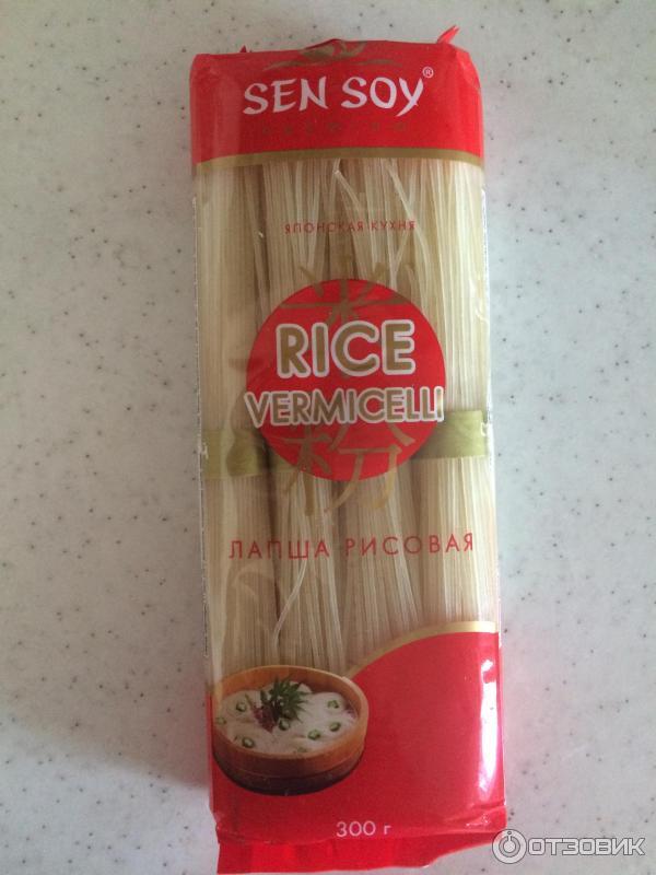 Рисовая лапша фото