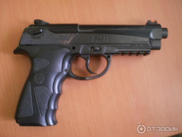 пистолете Crosman C31.