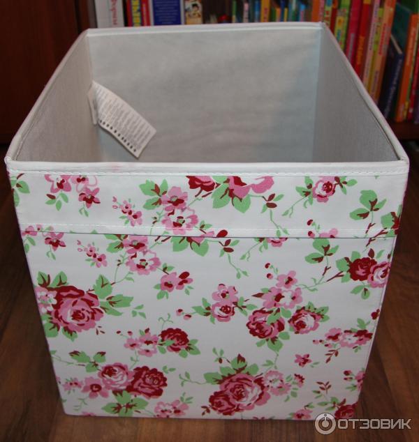 Как вязать коробки как в икее