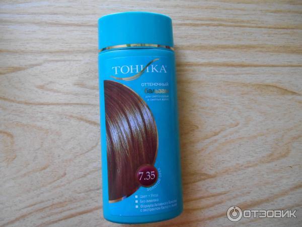 Тоник для волос коричневый