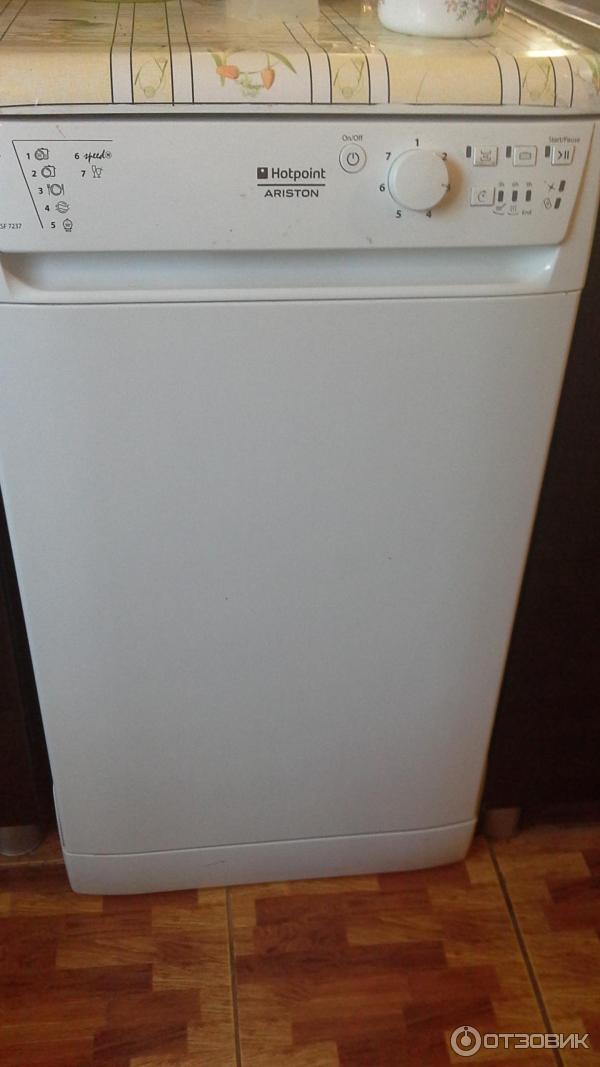 Посудомоечная машина инструкция hotpoint ariston lsf 7237