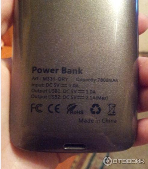 Gerffins Power Bank Инструкция - фото 4
