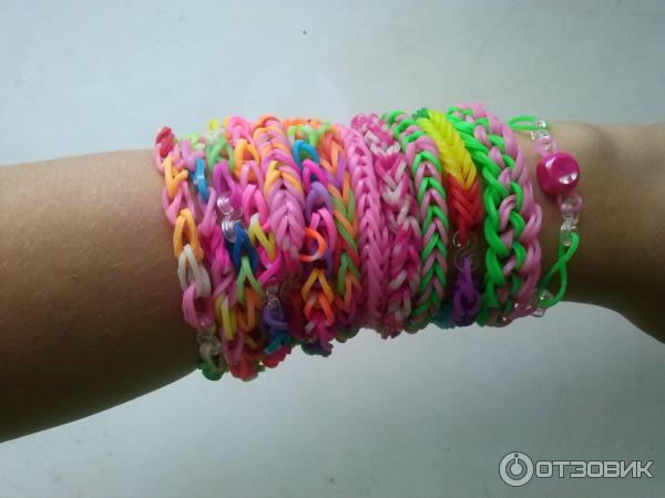 Объемные вышивкВидео уроки по плетению из резиночек