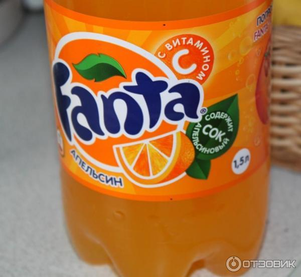 Отзыв о Напиток безалкогольный сильногазированный Fanta   Иногда ...