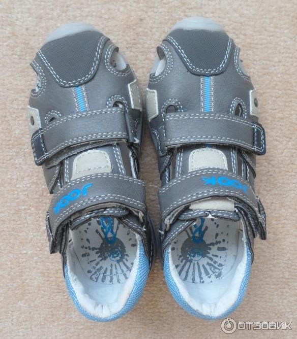 Отзыв о Детские босоножки для мальчика JOOK | детские сандалии