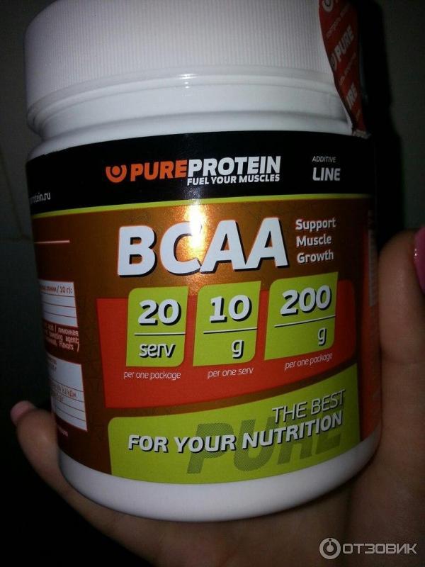 Спортивное питание Pureprotein BCAA | Отзывы