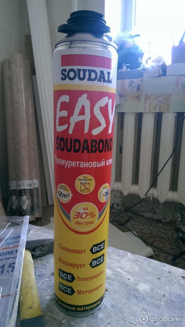 Soudabond easy полиуретановый клей лучшая гидроизоляция подвала