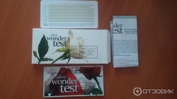 Вандер тест на беременность отзывы