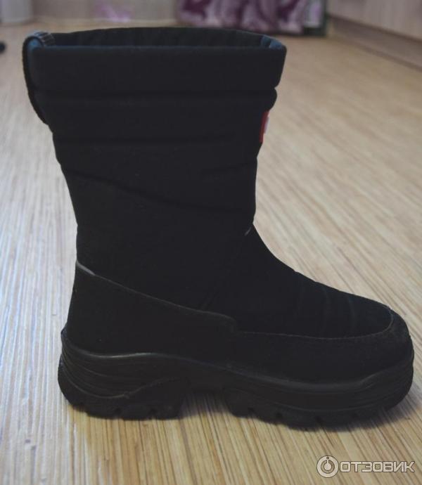 a1600752a Отзыв о Сапоги зимние детские Demar Hannu | Ножки ни разу не замерзли!