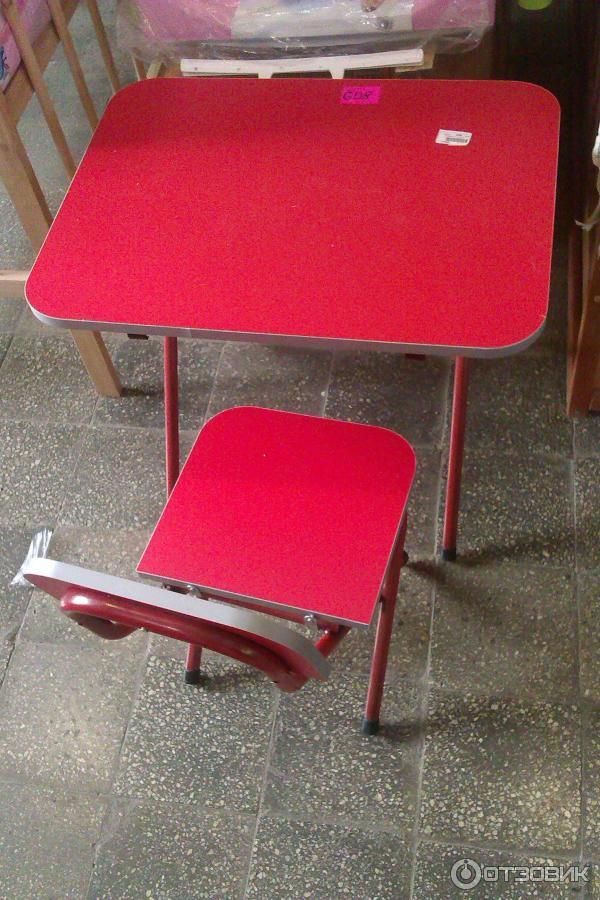 Металлический раскладной стол 5