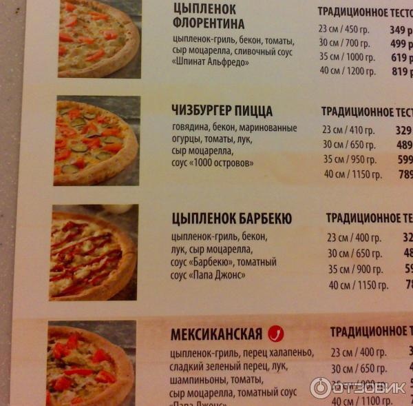 Сколько стоит тесто для пиццы