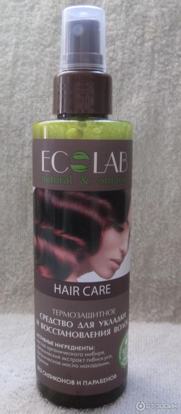 Спрей эколаб для волос