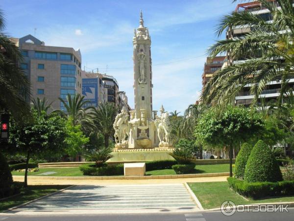 Испания побережье аликанте университет