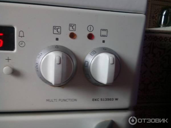 Электроплита electrolux ekc 513503 w электроплита дарина 1403 как включить духовку