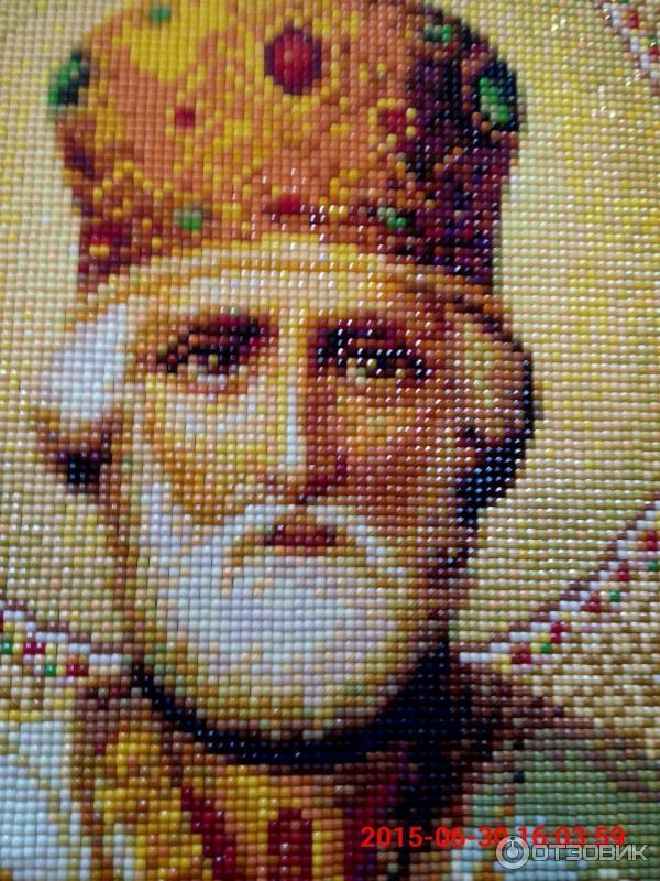 Алмазная мозайка Икона Св.