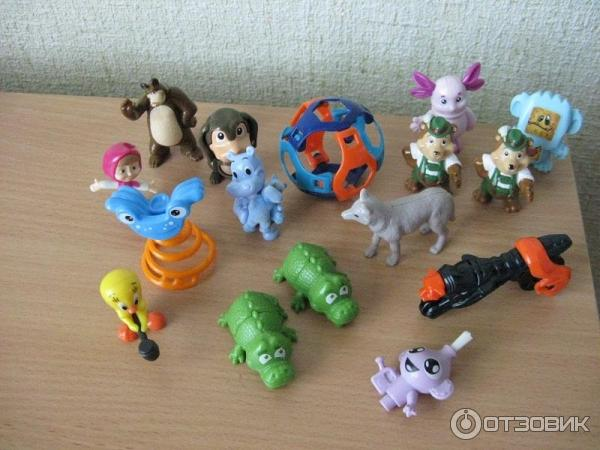 Мои игрушки из киндера