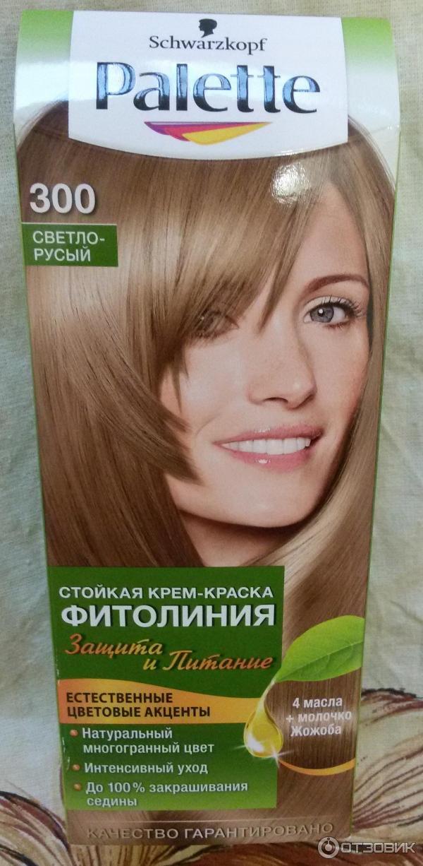 Светло русый цвет краски для волос