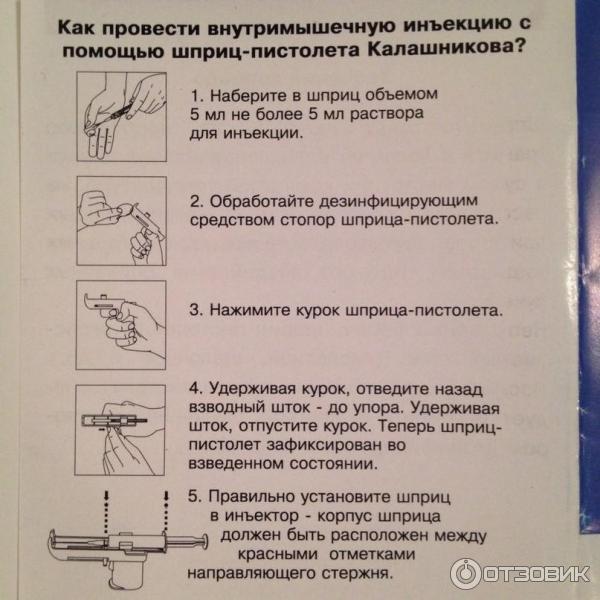 Как сделать укол внутримышечно инструкция