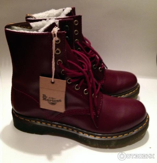 ботинки мартинсы женские