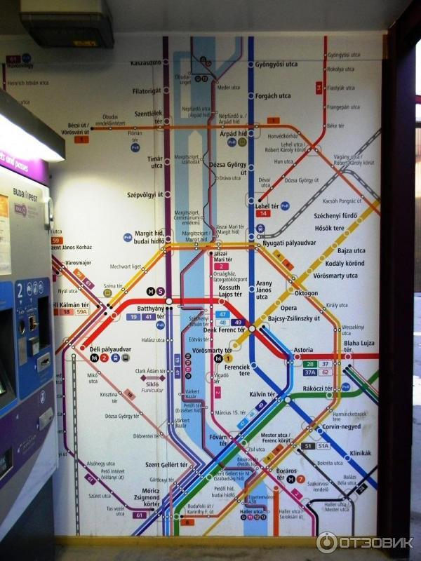 Будапештское метро - это