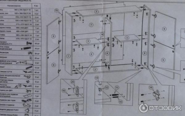 Стенка Киото Много Мебели Инструкция