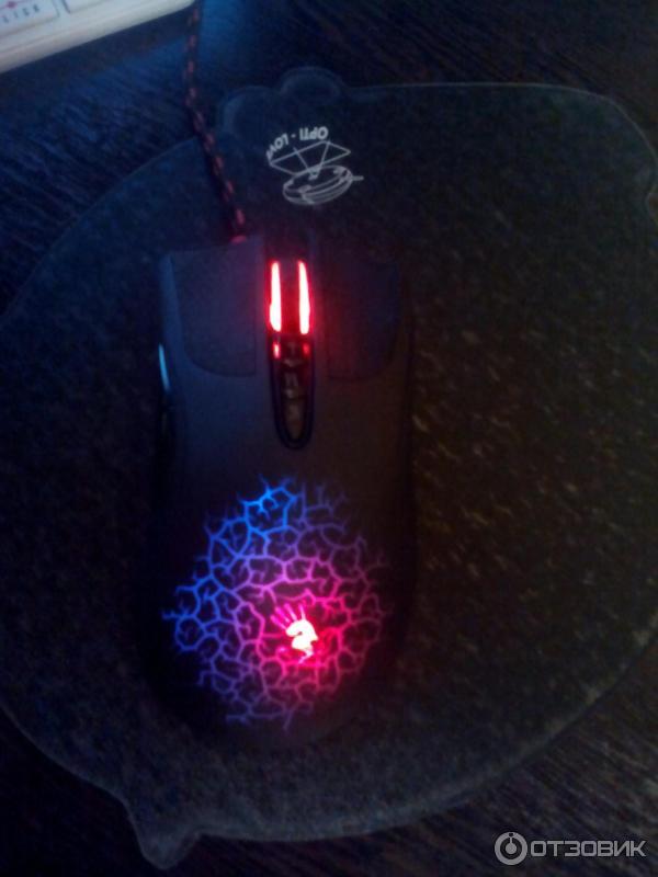 Как сделать чтобы мышь bloody