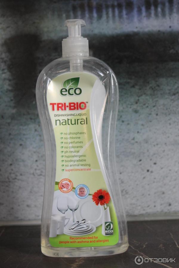 Жидкость для мытья посуды эко
