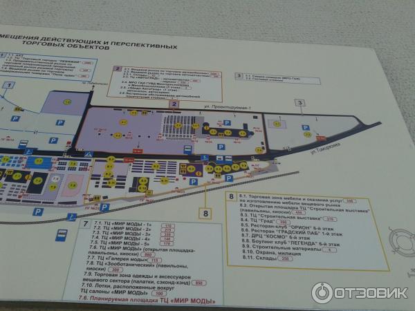 Схема рынка Ждановичи