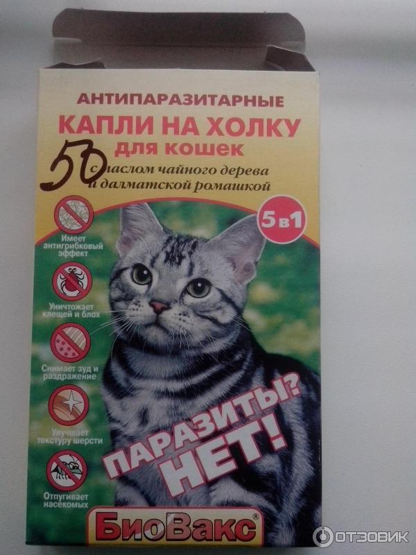 Биовакс капли для беременных кошек 96